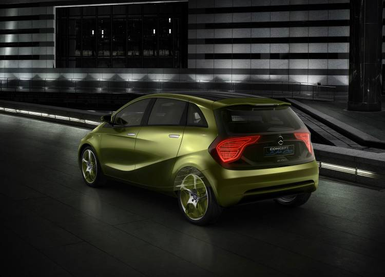 Mercedes Bluezero Concept Coche Electrico 04