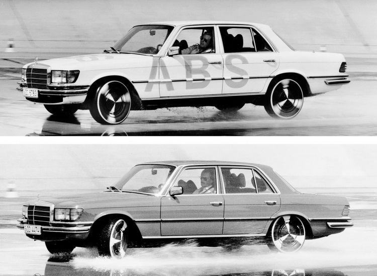 Mercedes Bosch Pruebas Abs 1978 5