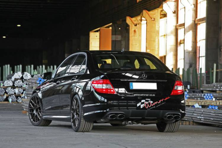 Mercedes C 63 AMG Wimmer RS