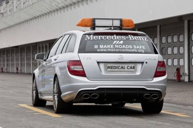 Ya en servicio el nuevo Mercedes C 63 AMG Estate, el médico más rápido del mundo