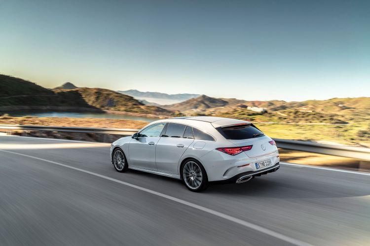 Mercedes Cla Shooting Brake 2019 Exterior Blanco 01