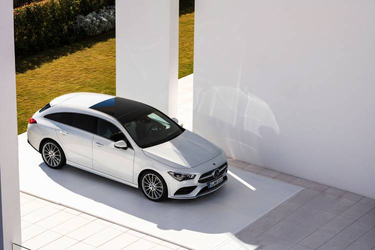 Mercedes Cla Shooting Brake 2019 Exterior Blanco 10