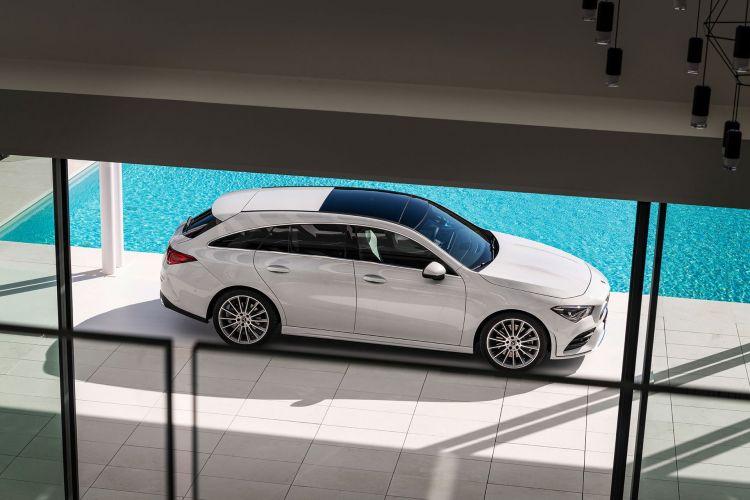 Mercedes Cla Shooting Brake 2019 Exterior Blanco 11