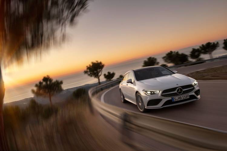 Mercedes Cla Shooting Brake 2019 Exterior Blanco 17