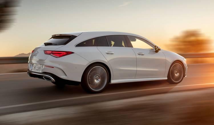 Mercedes Cla Shooting Brake 2019 Exterior Blanco 19