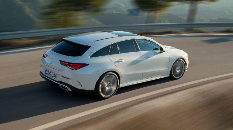 Mercedes Cla Shooting Brake 2019 Exterior Blanco 20
