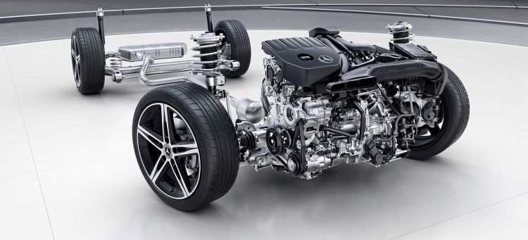 Mercedes Clase A 2019 Chasis
