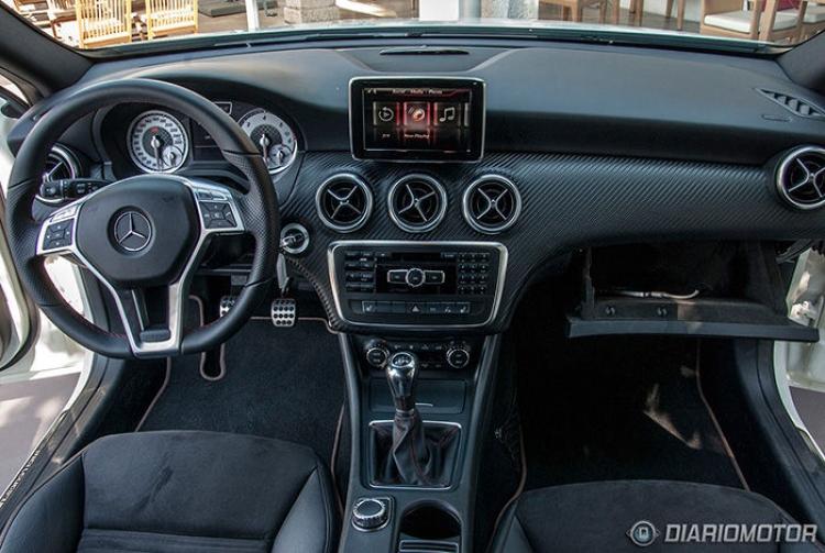 Prueba del Mercedes Clase A