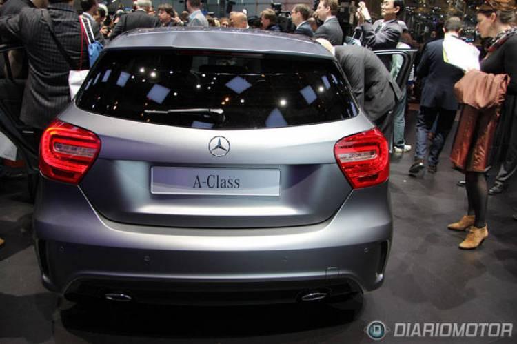 Nuevo Mercedes Clase A 2012 en Ginebra