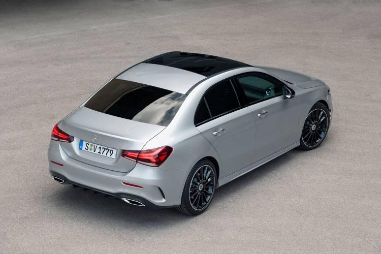 Mercedes Clase A Sedan 48