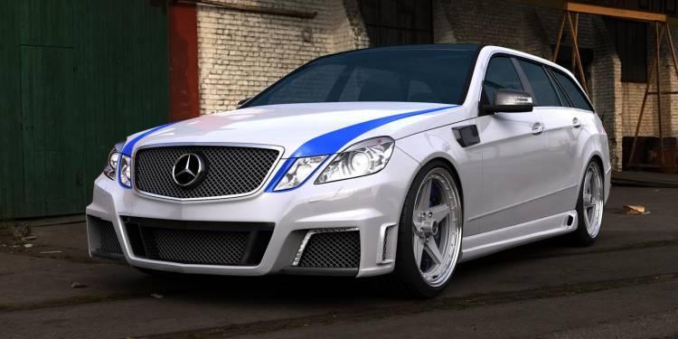 Mercedes Clase E 63 AMG Estate por GWA-Tuning