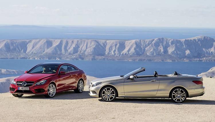 Mercedes Clase E Coupé 2013