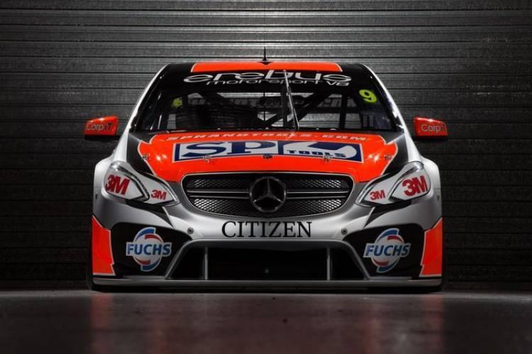 Un Mercedes Clase E en las V8 Supercar Series australianas