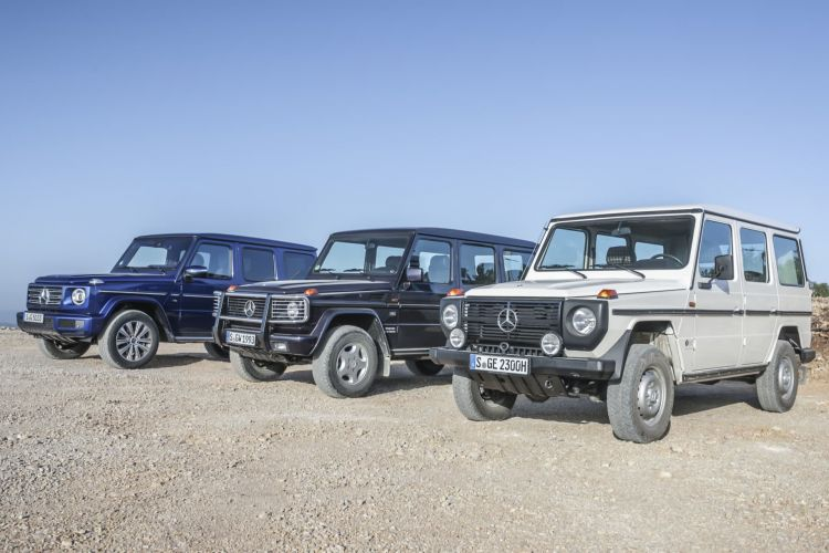Vor 40 Jahren Wird Der Geländeklassiker Vorgestellt: Großer Geburtstag Für Die Mercedes Benz G Klasse The Off Road Classic Premieres 40 Years Ago: Grand Birthday Of The Mercedes Benz G Class