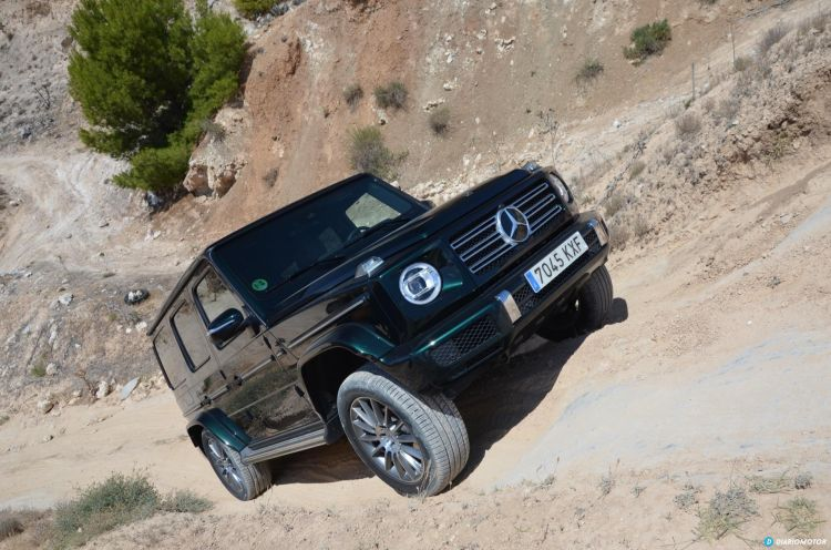 Mercedes Clase G Ascenso 04