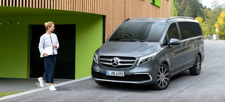 Mercedes Clase V 2019 Gris Adelanto Coche Electrico 02