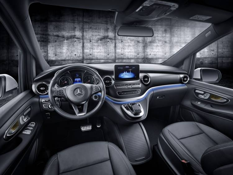 Mercedes Clase V 2019 Interior 1
