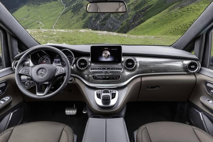 Mercedes Clase V 2019 Interior 5