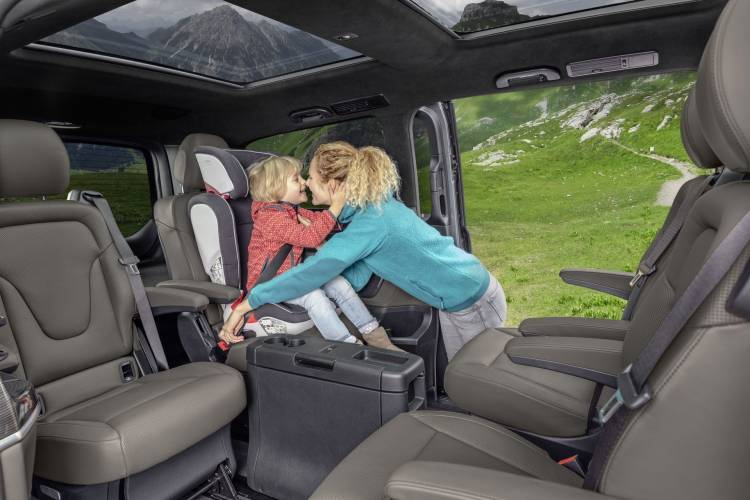 Mercedes Clase V 2019 Interior 9
