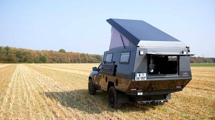 Mercedes Clase X Camper 10