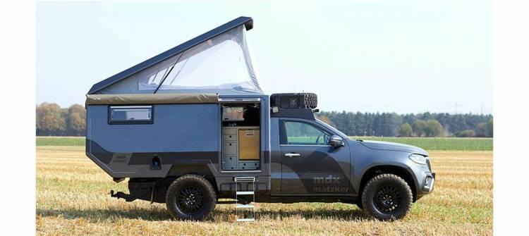 Mercedes Clase X Camper P
