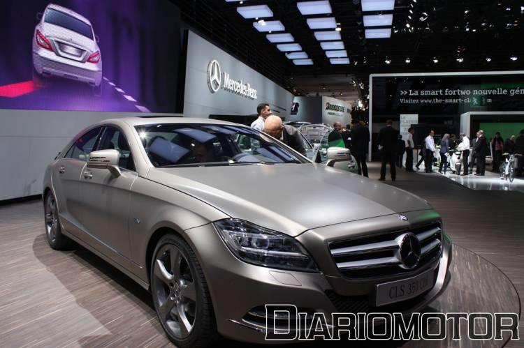 Mercedes CLS 2011 en el Salón de París