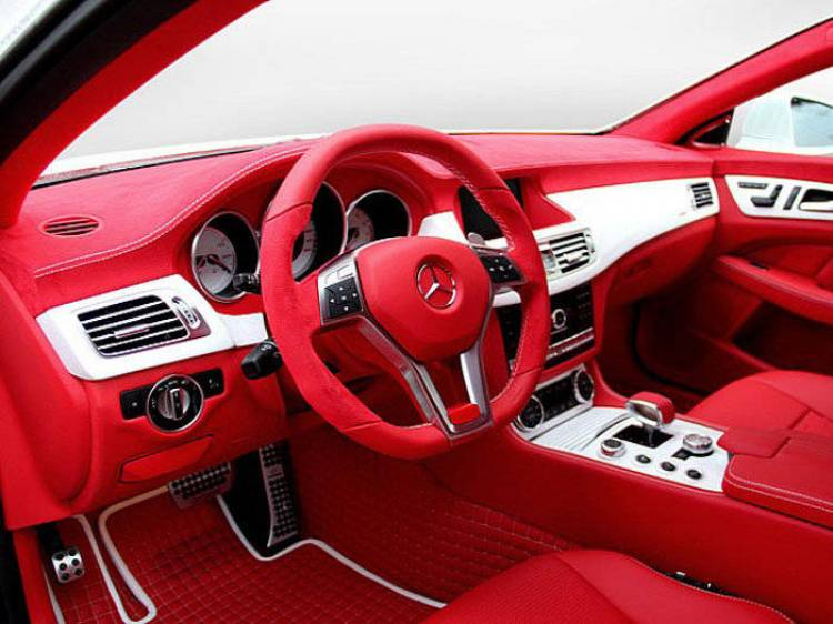 Mercedes CLS 63 AMG Red and White Dream