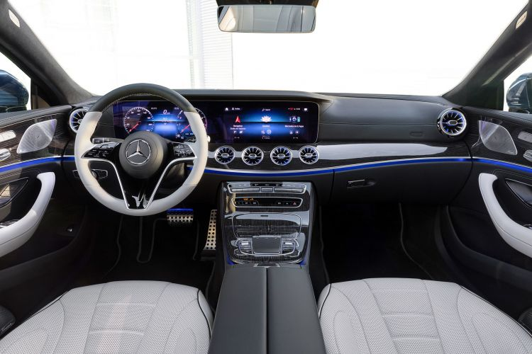 Mercedes Cls Coupe 2021 Interior Amg Line 01