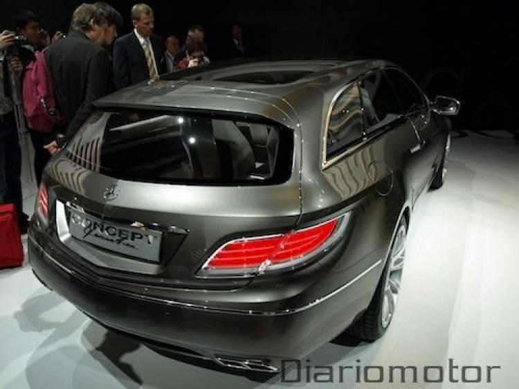 Mercedes ConceptFASCINATION en París 2008