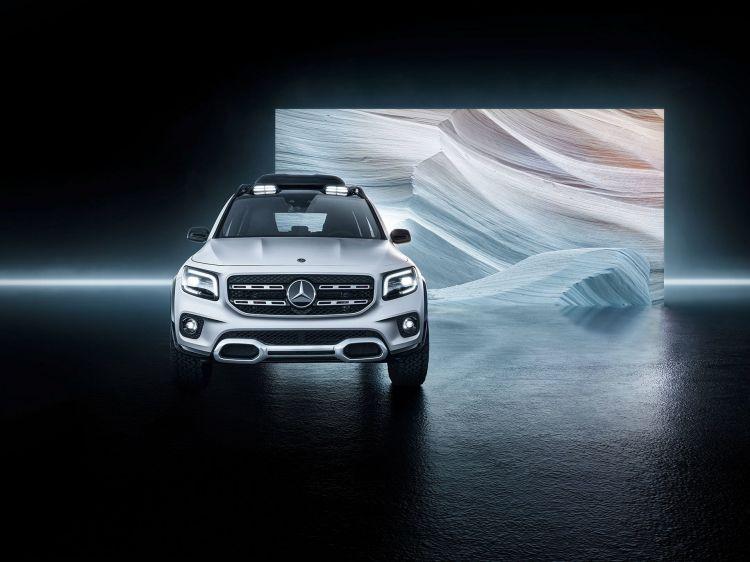 Mercedes Concept Glb 2019 13