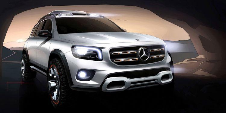 Mercedes Concept Glb 2019 30