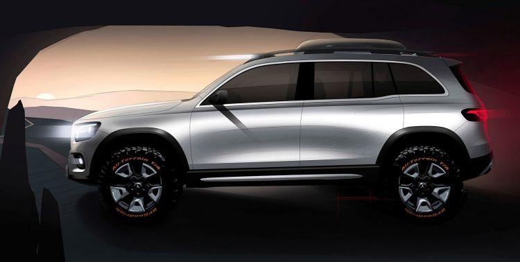 Mercedes Concept Glb 2019 31