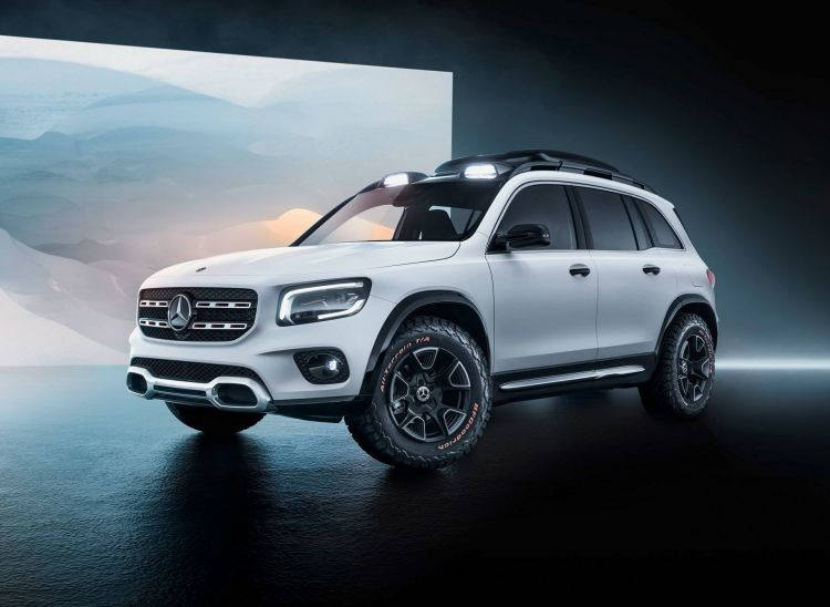 Mercedes Concept Glb 2019 3