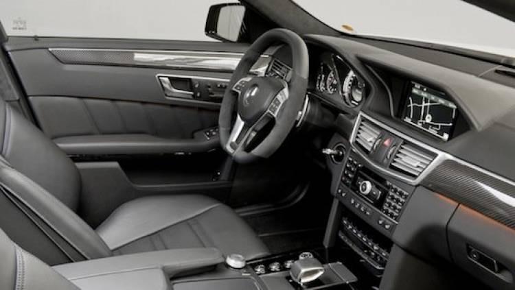 Mercedes E 63 AMG 5.5 V8 Biturbo 2012