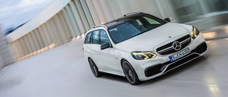 Mercedes E 63 AMG Estate