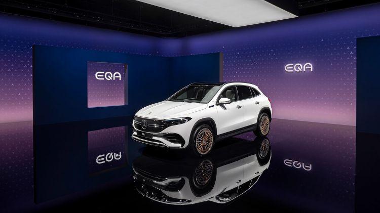 Mercedes Eqa 2021 Frontal 1