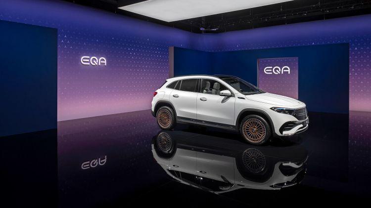 Mercedes Eqa 250 2021 Frontal 2