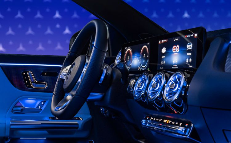 Mercedes Eqa 250 2021 Interior 26