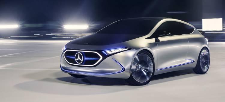 Showcar Mercedes Benz Concept Eqa: Eq Konzept In Der Kompaktklasse