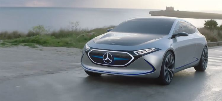 Mercedes Eqa Concept Video Bmw I3