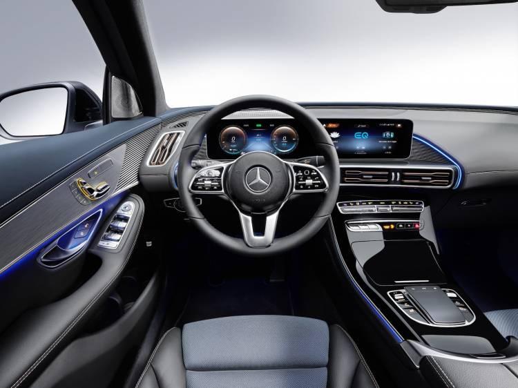 Der Neue Mercedes Benz Eqc Der Erste Mercedes Benz Der Produkt Und Technologiemarke Eq The New Mercedes Benz Eqc The First Mercedes Benz Under The Product And Technology Brand Eq