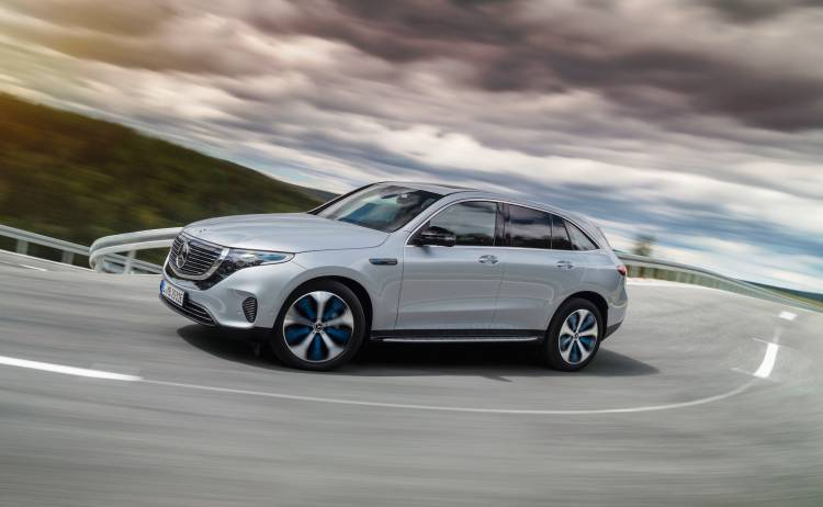 Der Neue Mercedes Benz Eqc Der Erste Mercedes Benz Der Produkt Und Technologiemarke Eq The New Mercedes Benz Eqc The First Mercedes Benz Under The Product And Technology Brand Eq