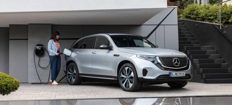 Mercedes Eqc 2019 Coche Electrico Sociedad