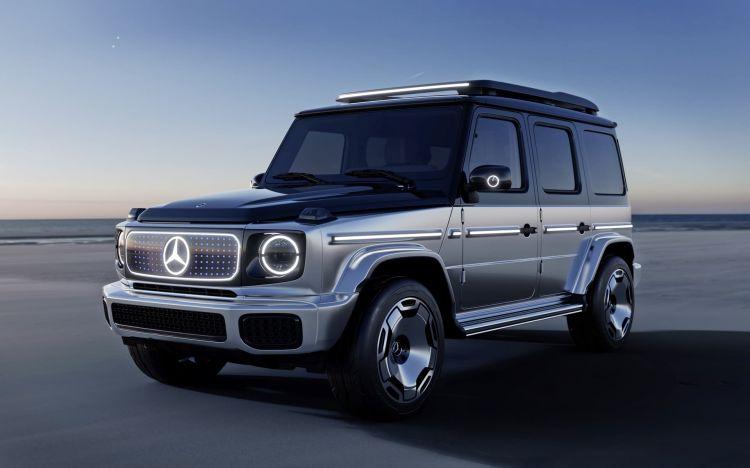 Mercedes Benz Concept Eqg Mercedes Benz Concept Eqg