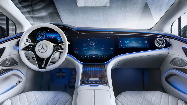 Mercedes Eqs 2021 Interior 03