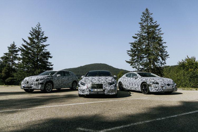 Eqs Kommt 2021 Und Ist Erstes Modell Auf Der Neuen Elektroarchitektur: Sechs Neue Eq Modelle: Mercedes Benz Erweitert Elektroauto Portfolio Eqs Arrives In 2021 And Is The First Model Built On The New Electric Architecture: Six New Models From Eq: Mercedes