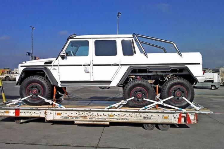 Mercedes G 63 AMG 6x6, porque los jeques árabes siempre quieren más