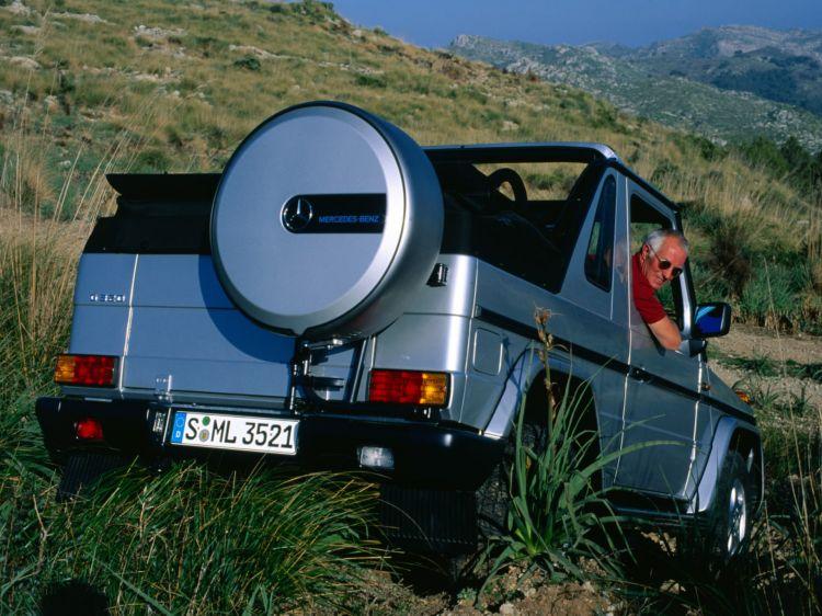 Mercedes G Cabriolet 1998