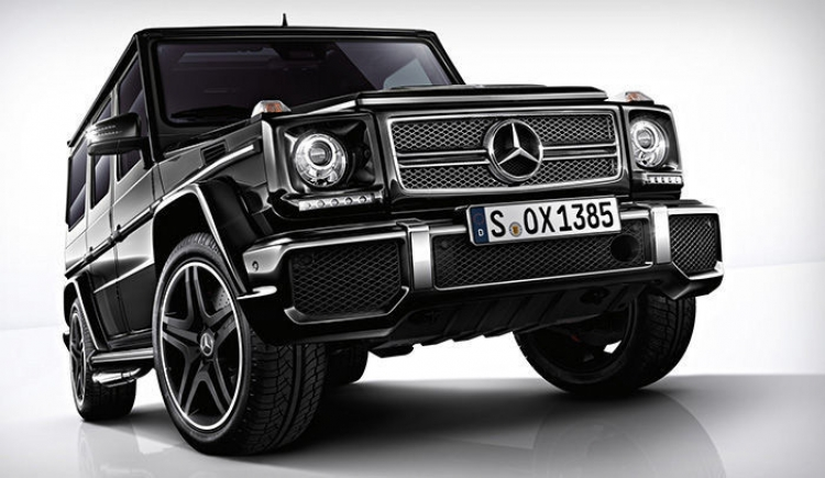 Mercedes G65 AMG V12 biturbo