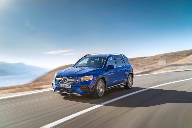 Mercedes Glb 2020 Azul 03